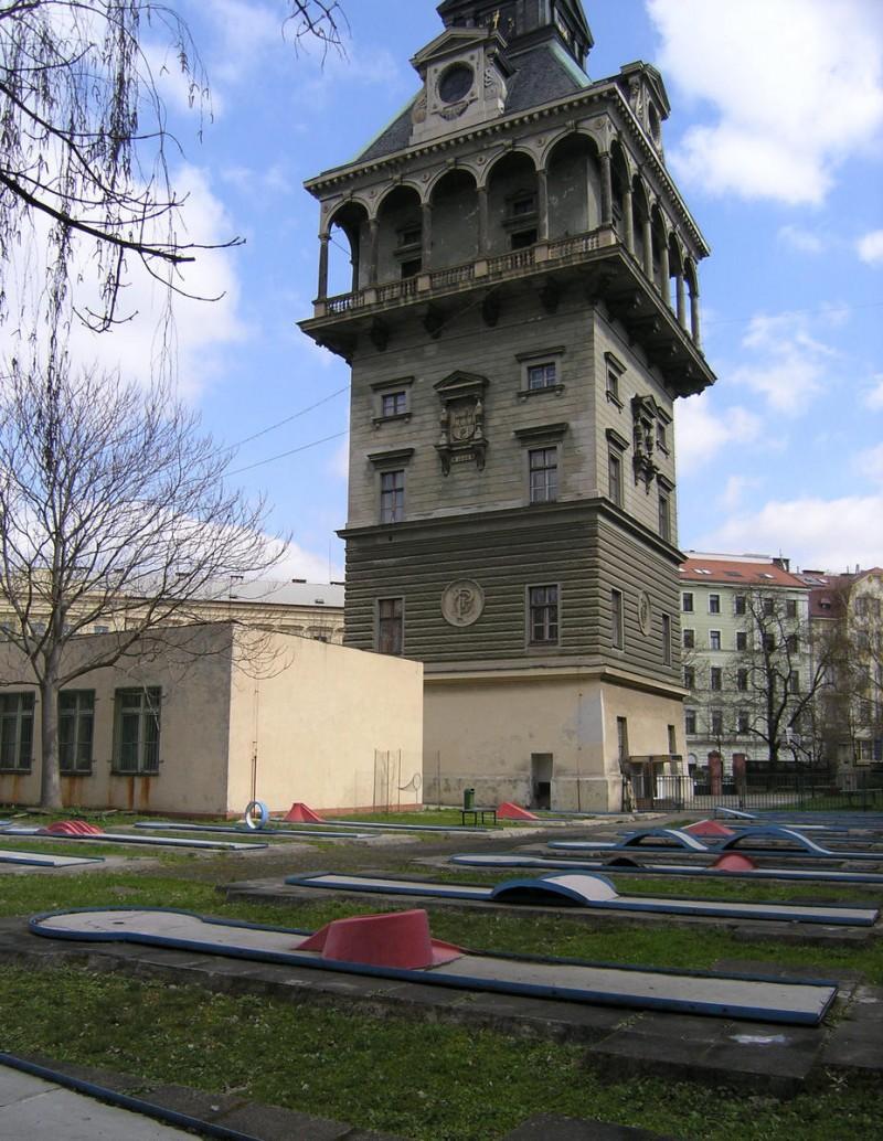 Летенская водонапорная башня 2