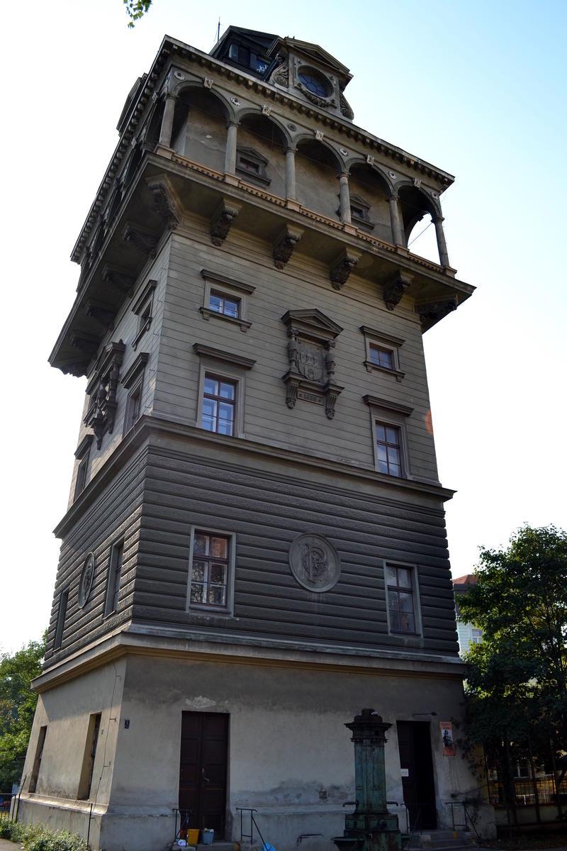 Летенская водонапорная башня 3
