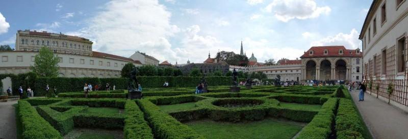 Вальдштейнский сад 2
