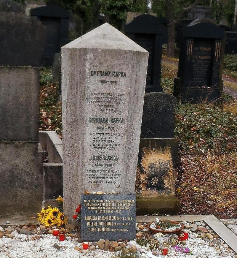 Новое еврейское кладбище - Кафка