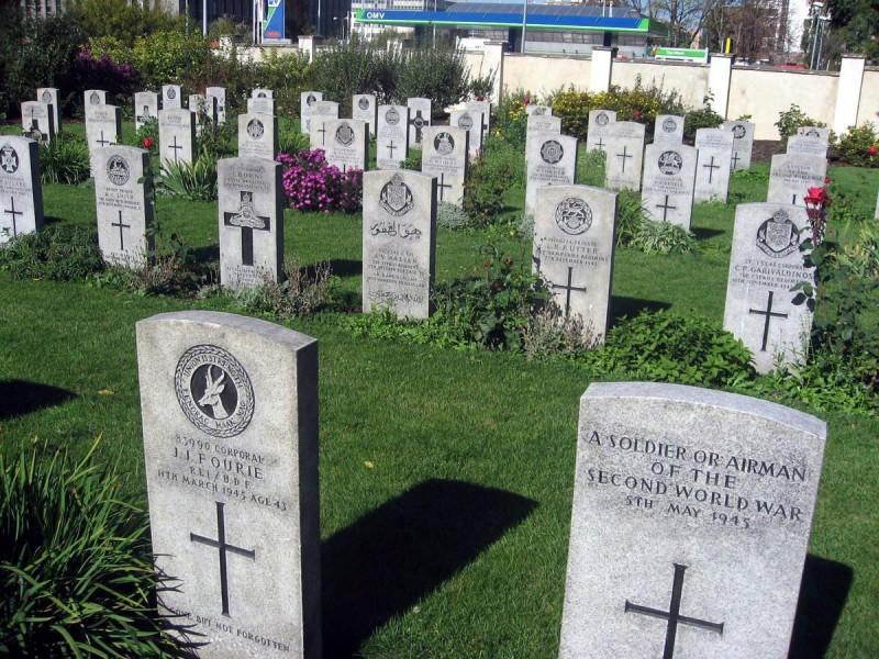 Ольшанское кладбище 4