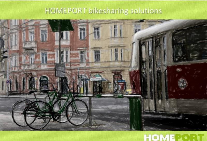 Прокат велосипедов в Праге homeport