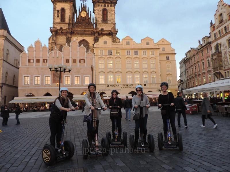 Прокат сегвеев в Праге 2
