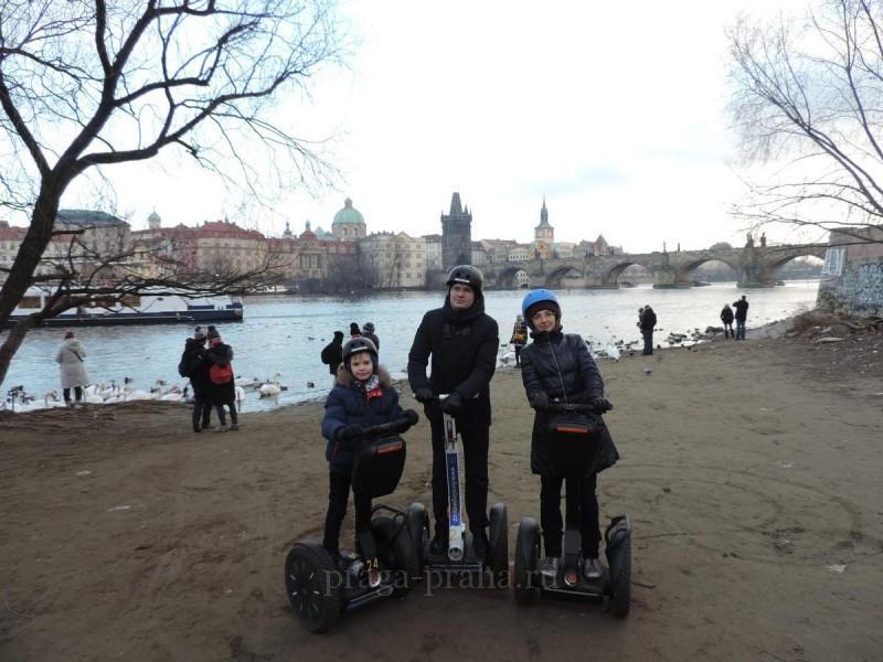 Прокат сегвеев в Праге 4