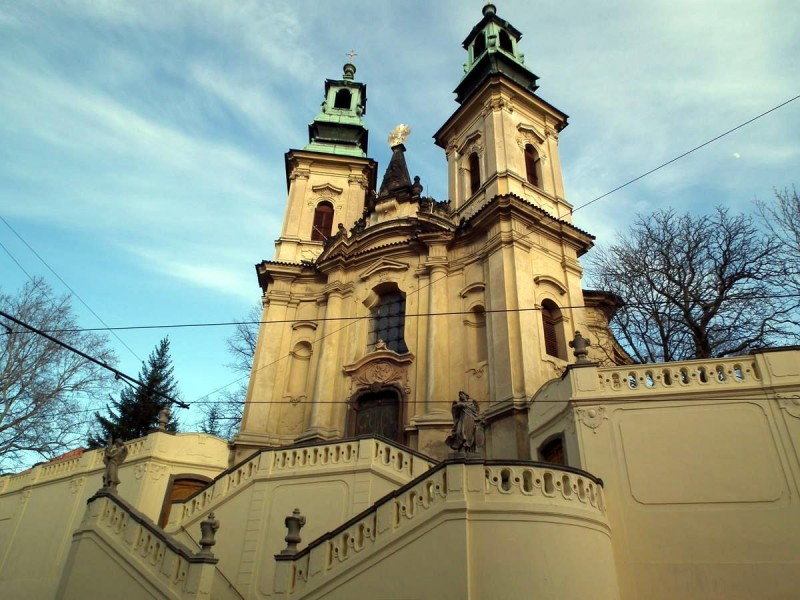 Костёл Святого Яна Непомуцкого на Скалце