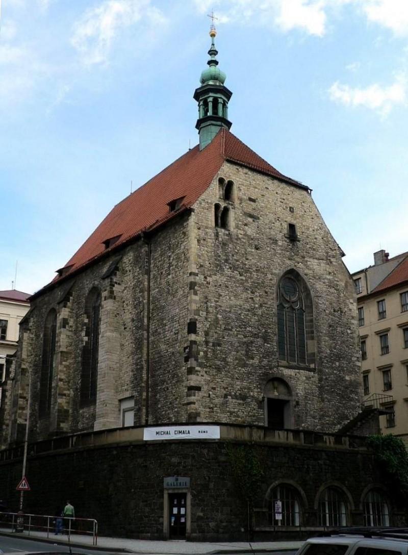 Церковь святого вацлава на здеразе