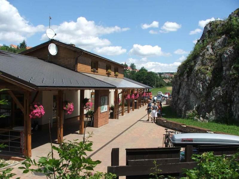 Пещера Балцарка - сдужебное здание