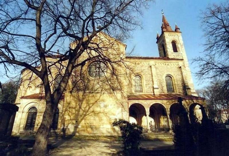 Костел св. Филиппа и Якова в Смихове 2
