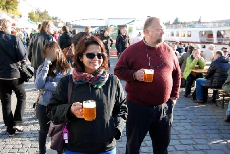 Пивной фестиваль на Набережной 9