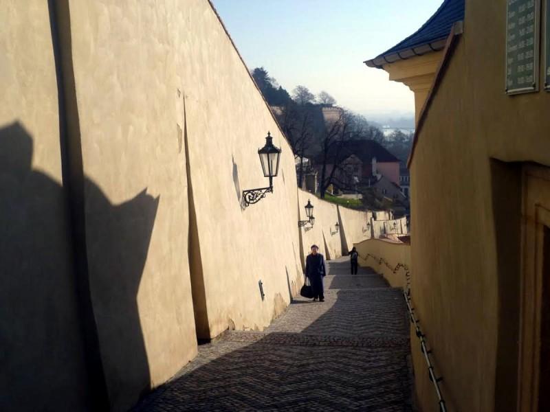 Старая замковая лестница 4