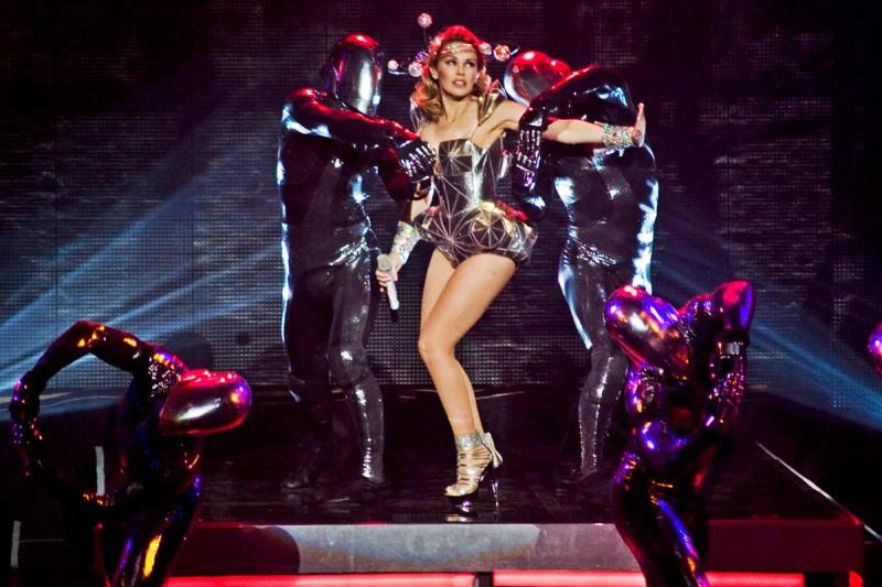 Концерт Kylie Minogue в Праге