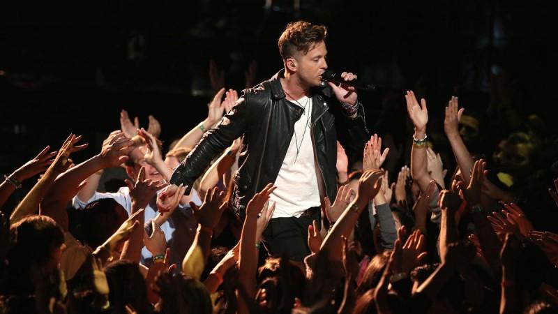 Концерт OneRepublic в Праге