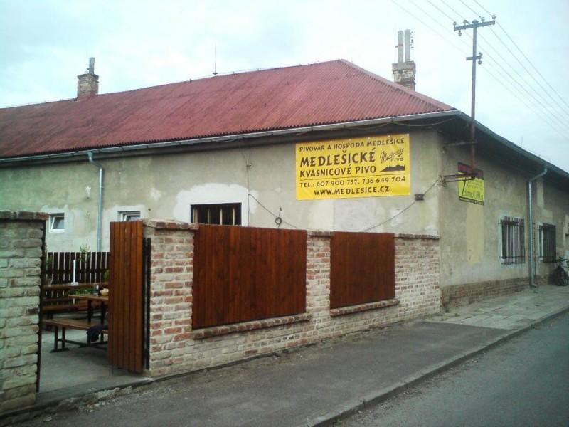Пивоварня Медлешице