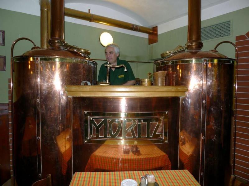 Пивоварня Моритц 4