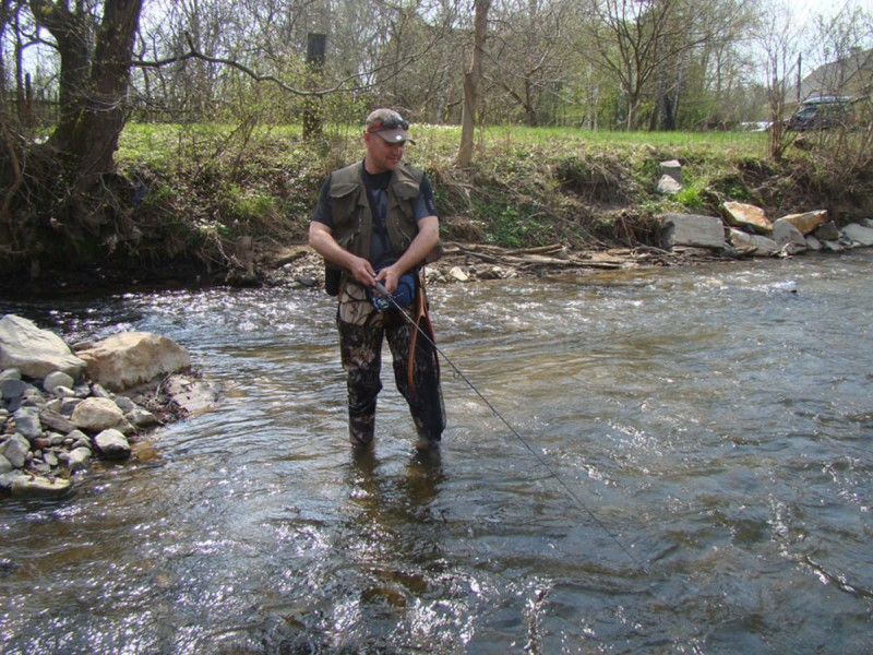 Рыбалка в Чехии 2