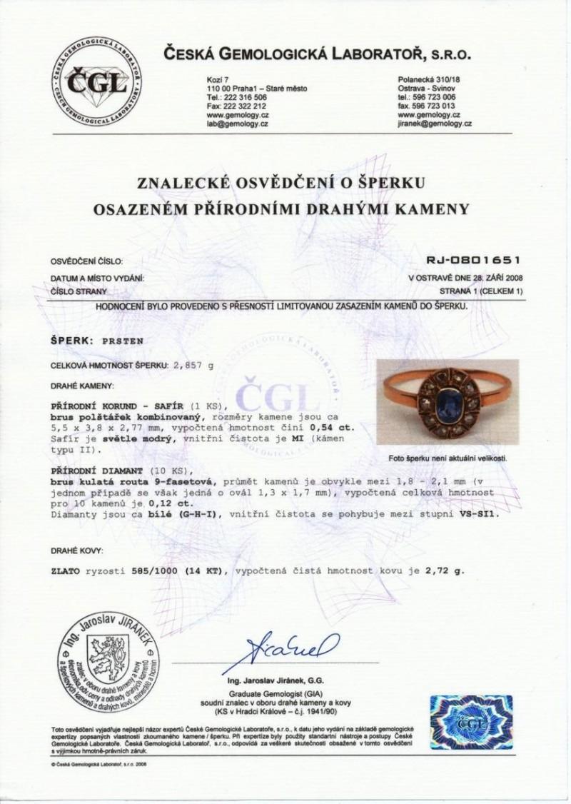 сертификат на покупку золота в Праге