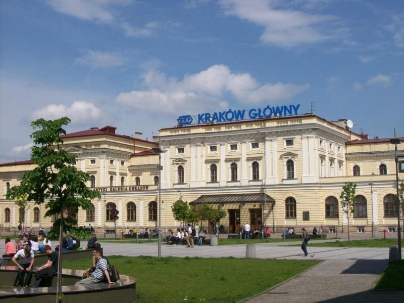 Прага - Краков на поезде