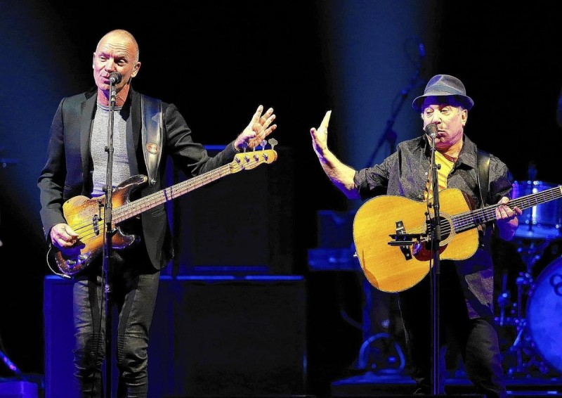Paul Simon & Sting 2