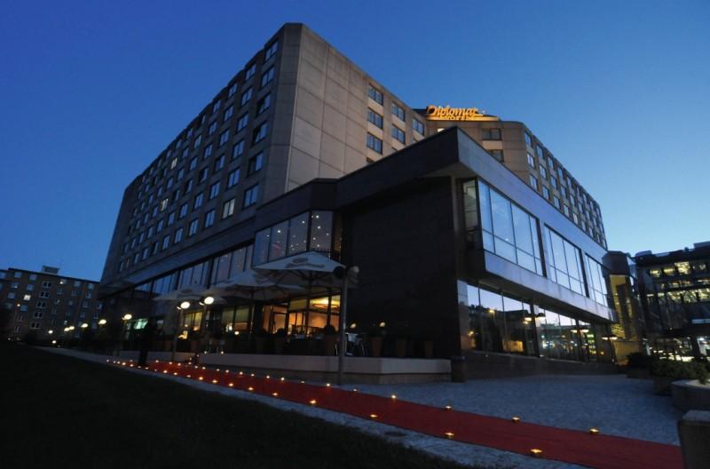 Отель Diplomat Hotel Prague 1