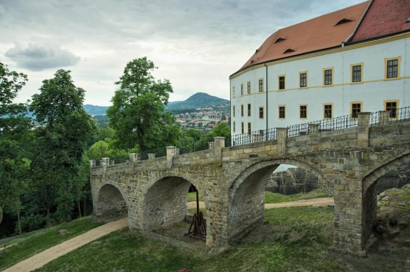Дечинский замок 2
