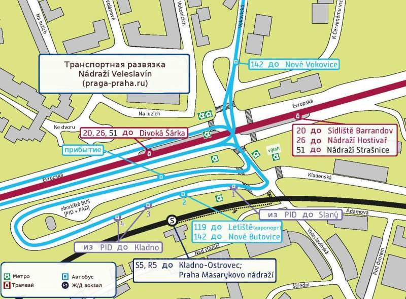 Карта_Nadrazi_Veleslavin
