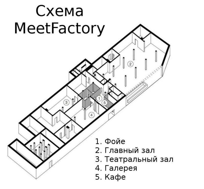Клуб Meet Factory 6