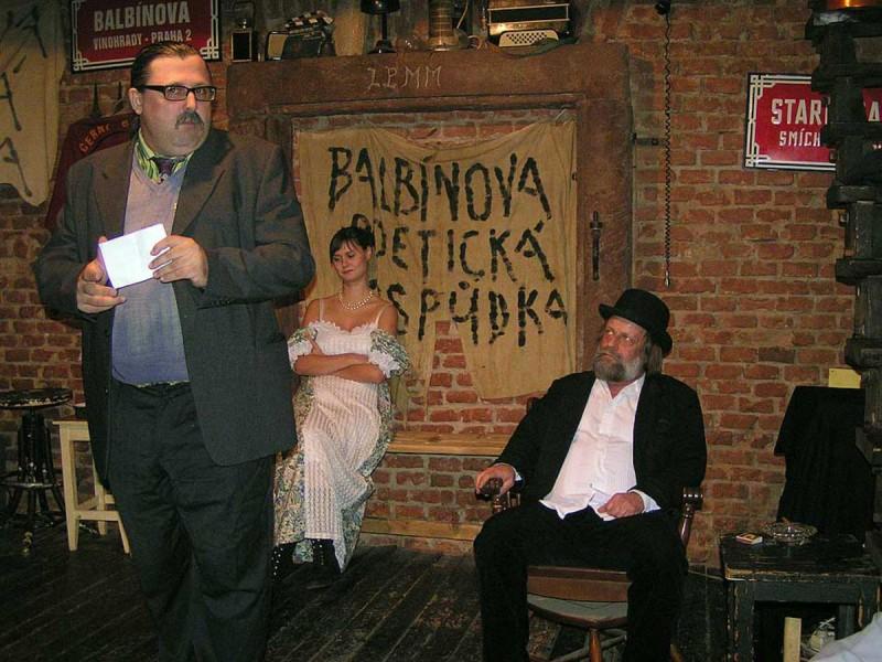 Клуб Balbínova poetická hospůdka 5