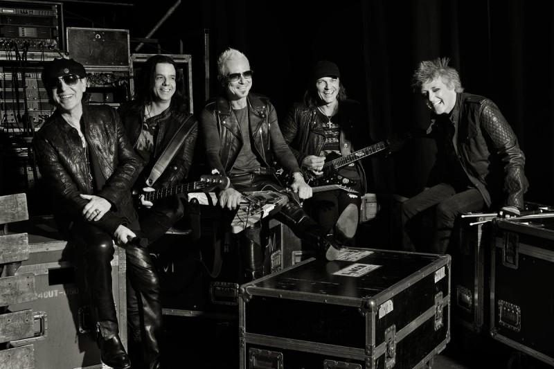 Концерт Scorpions в Праге 2
