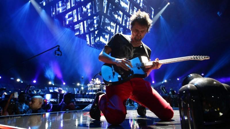 Концерт Muse в Праге 2