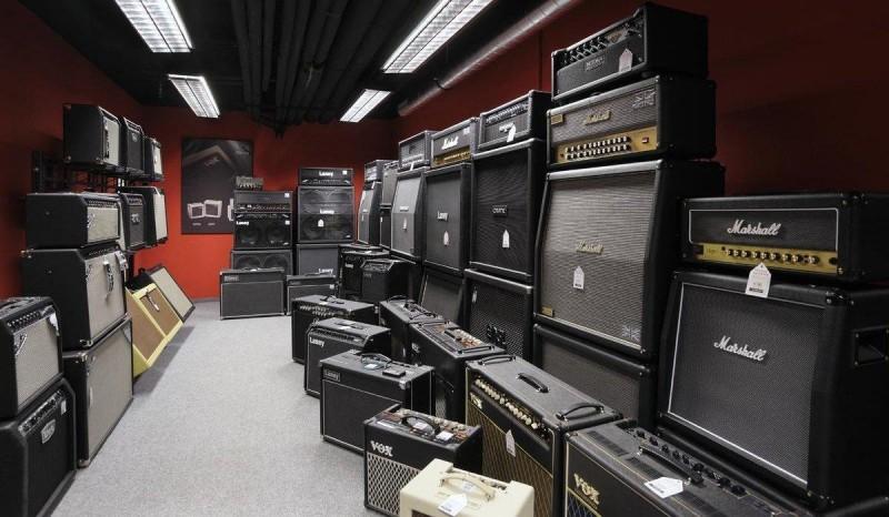 Музыкальные магазины Праги 1