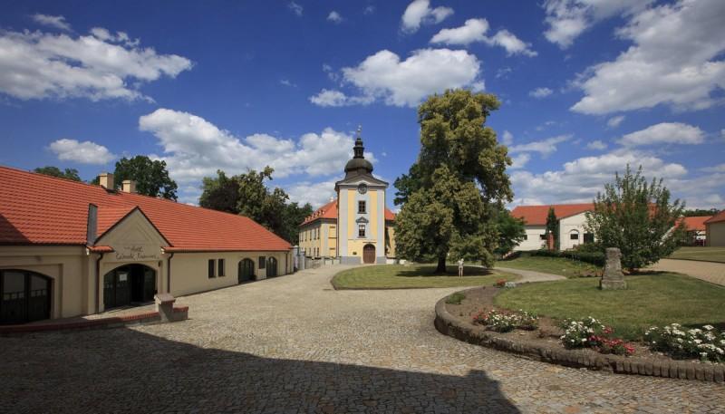 Замковый ареал Цтенице 4