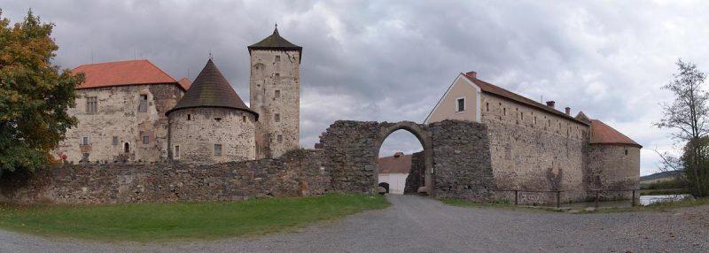Водная крепость Швигов 1