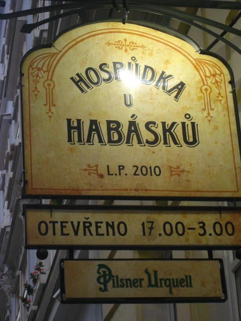 Пивная U Habásků 3