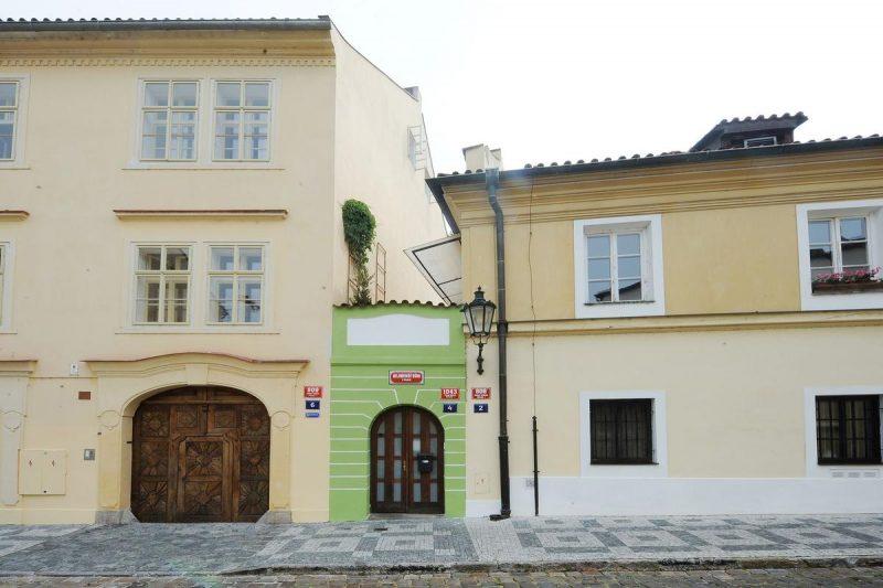 самый маленький дом в Праге