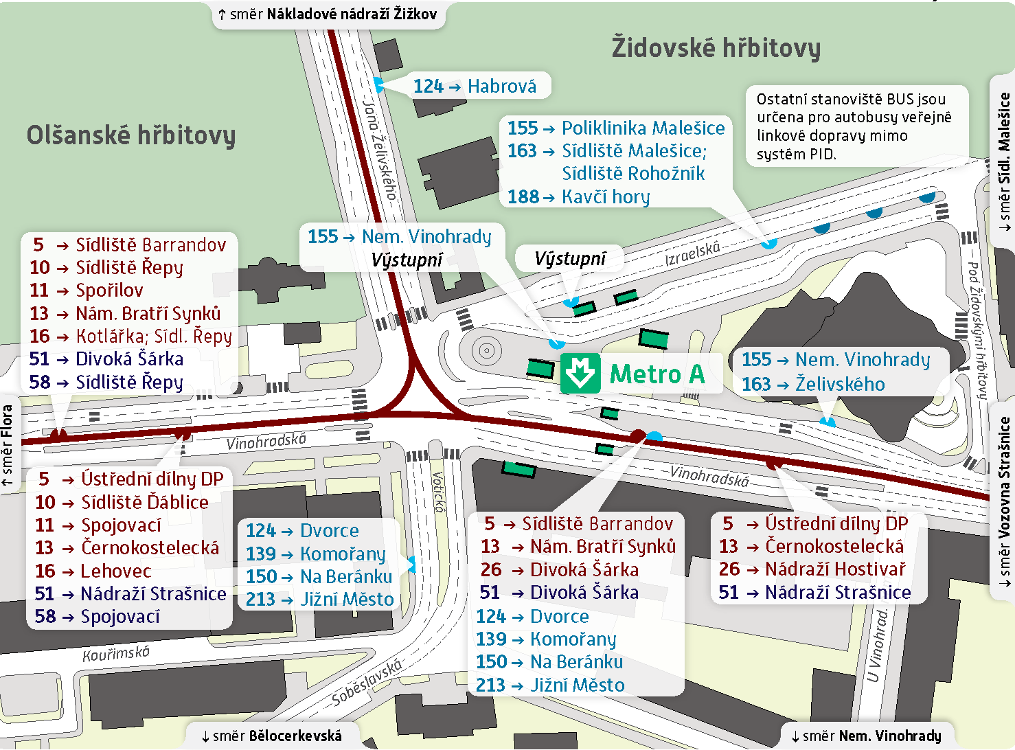 Станция метро Želivského